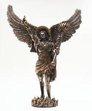 ARCHANGEL URIEL STATUE. GOD IS MY LIGHT. CHRISTIANITY. AURIEL.PROTECTOR FIGURINE