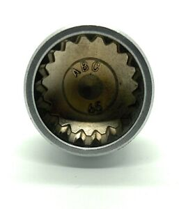 Porsche Wheel Lock Key -- 19 splines / ABC 65 -- 23mm diameter -- FAST SHIPPING!