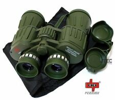 Perrini 60X50 Day/Night Military Army Binoculars Green w/Pouch Perrini P700