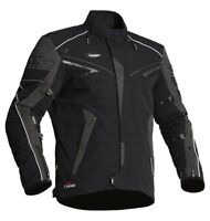 Halvarssons Hercules Waterproof Outlast Motorcycle Textile Jacket Black rrp £399