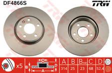 Brake Disc (2 Piece) - TRW df4866s