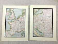 Paper Map Original Art Prints