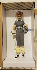 """Franklin Mint I Love Lucy Does a TV Commercial  18"""" Porcelain Doll."""