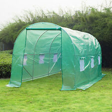 Outsunny 14.8' x 6.6' x 6.6' Greenhouse Plant Grow Shed Yard Garden Portable