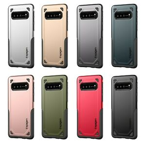 New For Samsung Galaxy S10 Hybrid Armor Dual Layer Thin Fit TPU+PC Spigen Case