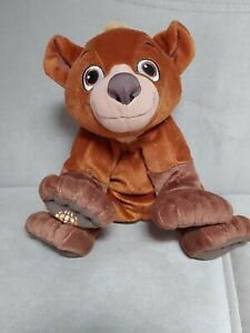 "Disney Brother Bear Koda Stuffed Plush 10"" 2003 Hasbro"