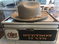 Stetson Open Road Size 7 Cowboy Hat. 4x Beaver , Silver Belly