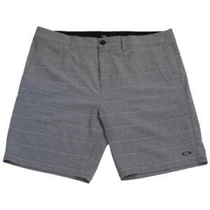 Oakley Fortuna Shorts Size 34 L Mens Forged Iron Grey Short Casual Boardshorts