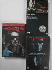 Terminator 1, 2, 3 - UnCuT Sammlung - Arnold Schwarzenegger, Cameron, Cyborg
