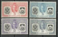 NYASALAND 1951 60th ANNIV OF THE PROTECTORATE FORMERLY BCA Sc#91-94 MNH 1917