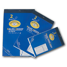 MED CARBONLESS SALES BOOK ORDER RECEIPT BOOK 50 RECORD SHEETS Duplicate 2 Parts
