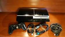 1365 Sony Playstation 3 80GB Piano Black Console CECHL04 + accessories PS3