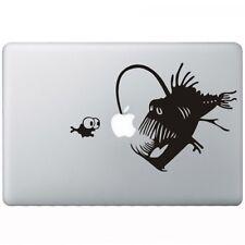 Angry lantern fish MacBook decal skin sticker vinyl   Laptop stickers decals