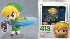 New Nendoroid Link Wind Waker HD Action Figure Legend of Zelda Good Smile Stock