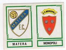 figurina CALCIATORI PANINI 1982/83 NEW numero 589 MATERA MONOPOLI