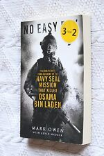 NO EASY DAY: THE ONLY FIRST HAND ACCOUNT..., NEW(LARGE), FREE SHIPPING+TRACKING