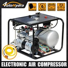 12V 550W Air Compressor 2CFM 50ft Hose Regulator for Snorkeling Hookah Diving