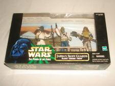 NEW Star Wars Power Of The Force Jabba's Skiff Guards Set Klaatu Barada & Nikto