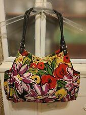 Brighton Floral Handbag cotton canv