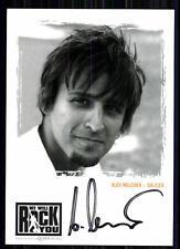 Alex Melcher We will Rock You Autogrammkarte Original Signiert ## BC 10471