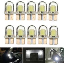 10x T10 168 W5W 12v COB LED CANBUS Silica Bright White License Light Bulb Newly