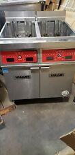 Vulcan 2er50cf 1 100 Lb 2 Unit Electric Floor Fryer System With Computer 1945