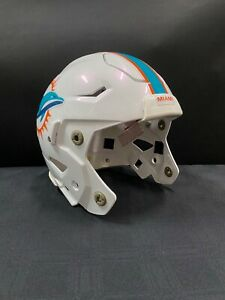 #85 AJ DERBY MIAMI DOLPHINS GAME USED SPEED FLEX FULL SIZE HELMET NO PADS