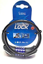 Combination Bike Cable Lock with Led 25 inches Ssa7