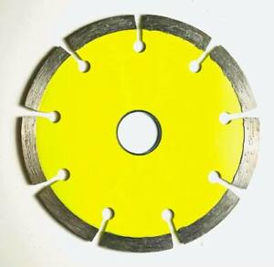 115mm x 22.2mm (4.5 INCH) DIAMOND CUTTING DISC FOR CONCRETE MASONARY BRICK STONE