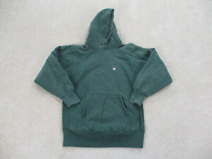 VINTAGE Champion Sweater Adult Extra Large Green Hoodie Reverse Weave Mens 90s