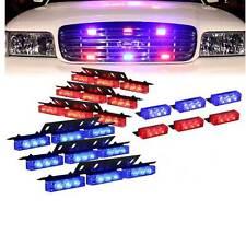 72 LED Auto Car Dash Grill Strobe Flash Lamp Emergency Police Warning Light