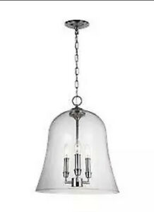 FEISS F3154/3CH THE LAWLER COLLECTION 3 - LIGHT PENDANT BRAND NEW!