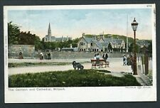 C1905 COLOURED PC -- THE GARRISON & CATHEDRAL - MILLPORT - AYRSHIRE