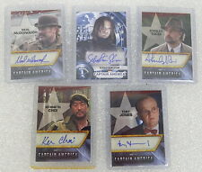 Captain America Movie Autograph Card Lot Upper Deck Toby Jones Sebastian Stan