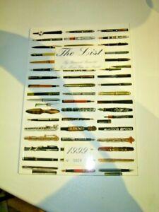 *EPHEMERA* Buch: The List > gutes Referenzbuch über frühe Limited Editions, 1999