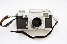 Contax IIIa Black Dial 1953 35mm German Rangefinder RF Camera Body As Is