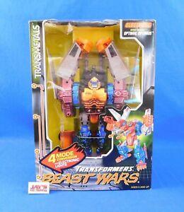 Electronic Heroic Maximal Optimal Optimus Transformers Beast Wars 1998 Kenner