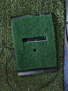 OptiShot 2 Golf Simulator and fitted 3x5 golf mat