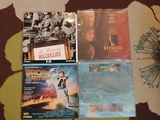 Lot of 4 Laserdiscs!Beverly Hillbillies;Outbreak;Back to the Future; Natural Sel