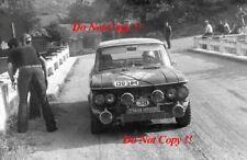 Ioannis Hasiotis & Silelis NSU 1200 TT Acropolis Rally 1972 Photographie 2