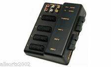 B Tech 3 Way SCART Switcher Selettore Scatola di controllo per l'Audio & Video