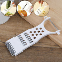 1*Kitchen gadgets carrot vegetable fruit peeler parer julienne cutter slicer BH