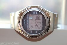 CASIO ILLUMINATOR WAVE CEPTOR WATER RESIST 50M 2587 WV-56H WRIST Watch