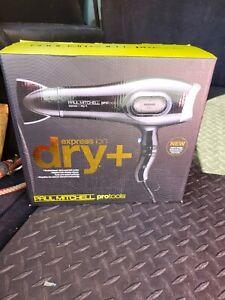 Paul Mitchell ProTools Express Ion Dry Plus Black Hair Dryer NIB
