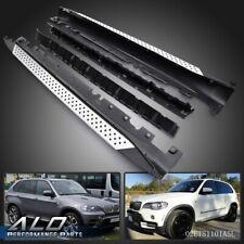 For BMW E70 X5 xDrive 07-12 Aluminum Running Boards Pair Side Step OE Style