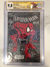Spider-Man 1 Silver Edition CGC 9.8 SS Todd McFarlane