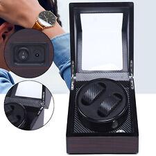 Watch Storage 2+0 Holder Fashionable 100-240V Automatic Watch Winder Display Box