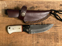 "3.5 "" Hunting Knife with Leather Sheath"