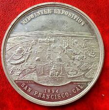 1894 Midwinter Coin San Francisco California  Exposition R5