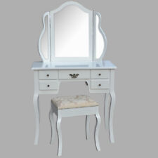 Coiffeuse Zoe Commode De Coiffure Table de coiffure miroir de maquillage maquillage Tabouret